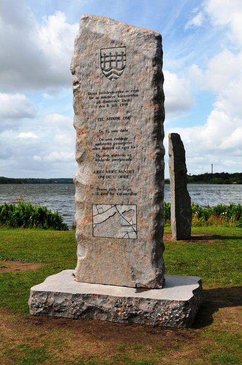 Stenshoppen.dk | Mindesmærke over Katastrofen på Haderslev Dam 1959